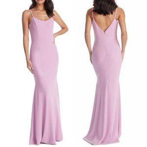 NWT Dress the Population Jodi Crepe Evening Dress